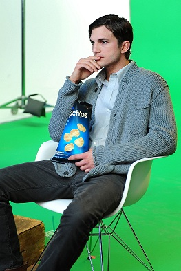 Ashton Kutcher for Popchips