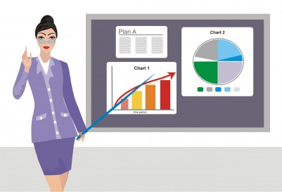 business woman with charts 6811525_s