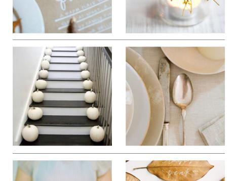 elegant thanksgiving ideas
