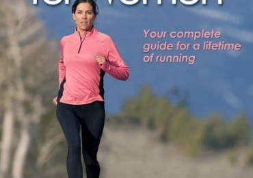 book cover running for women - picture of woman running on a road small