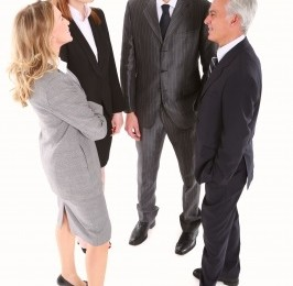 group of business people talking networking ID-10046883 by ambro