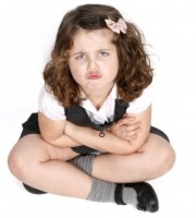 pouting child arms crossed ID-10070716 by Clare Bloomfield