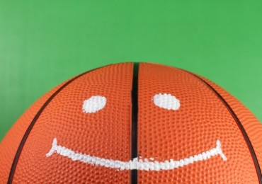 smiling basket ball ID-10085539 by 10incheslab