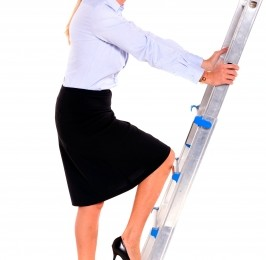 woman climbing ladder ID-10063671 by ambro