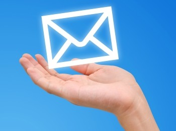 Hand And Mailing Icon
