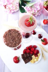 Cherry Chocolate Shake
