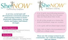 SheNOW – Charity vs. Community Chapters. What's the Difference?!