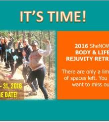 2016 SheNOW Women's Retreat!